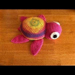 Handmade Crochet Turtle